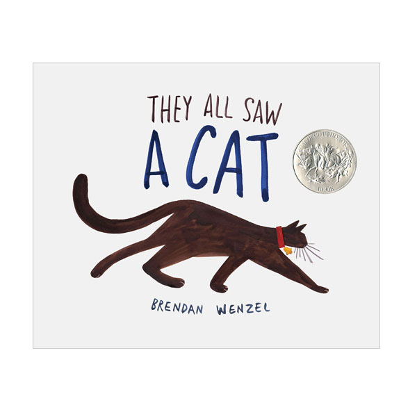[2017 칼데콧] They All Saw a Cat (Hardcover, 2017 Caldecott Honor)