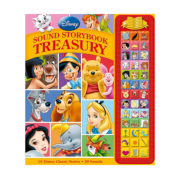 [Pi] Disney Classic : Sound Storybook Treasury - Red (Sound Board book)