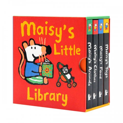 Maisy's Little Library : Lucy Cousins (Board book, 4종, 영국판) (CD 미포함)