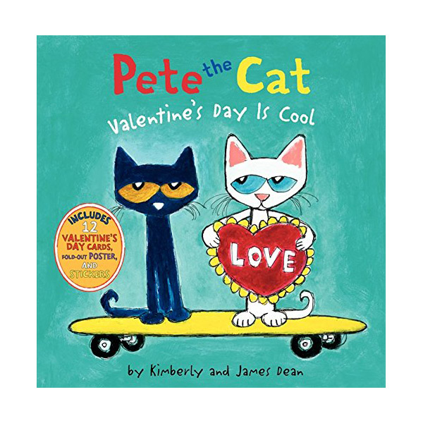 RL 2.8 : Pete the Cat : Valentine's Day Is Cool (Hardcover)