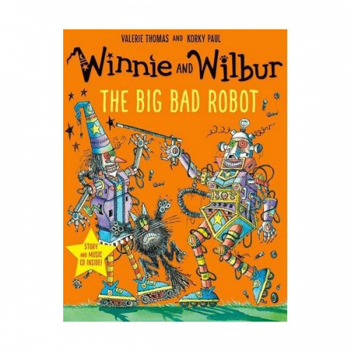 Winnie and Wilbur : The Big Bad Robot (Book&CD, 영국판)