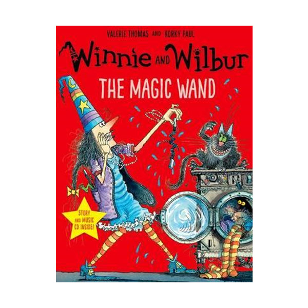 Winnie and Wilbur : The Magic Wand (Paperback & CD, 영국판)