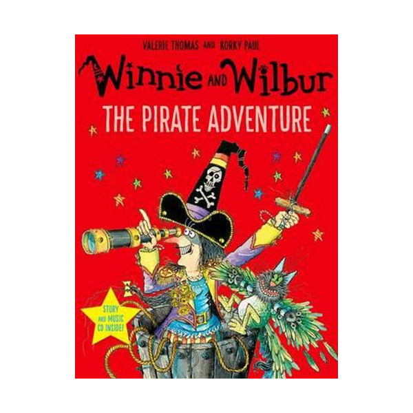 Winnie and Wilbur : The Pirate Adventure (Paperback & CD, 영국판)