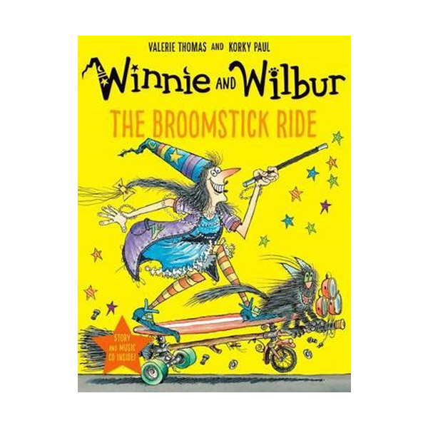 Winnie and Wilbur: The Broomstick Ride (Paperback & CD, 영국판)