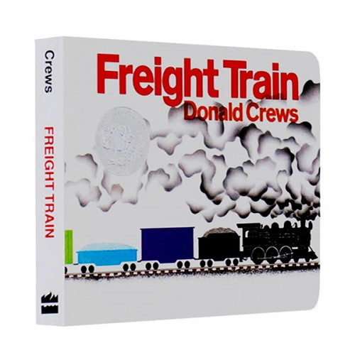 [1979 칼데콧] Freight Train Board Book (Board book, Caldecott)