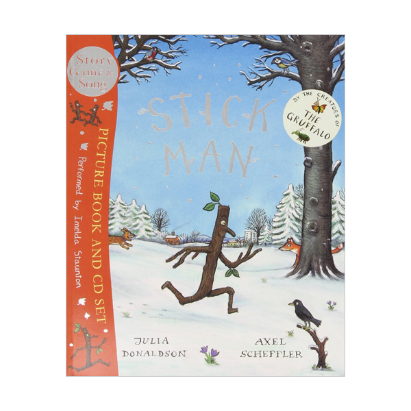 Stick Man (Paperback & CD, 영국판)
