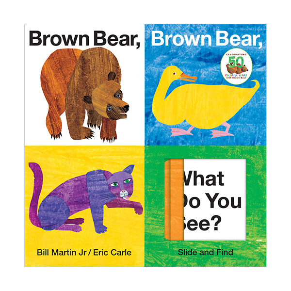Brown Bear, Brown Bear, What Do You See? : Slide and Find (Board Book)