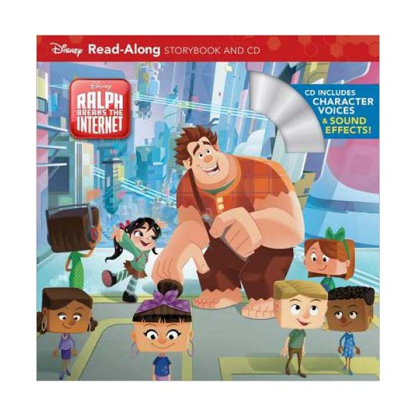 주먹왕랄프 : Read-Along : Wreck-It Ralph 2 (Book and CD)