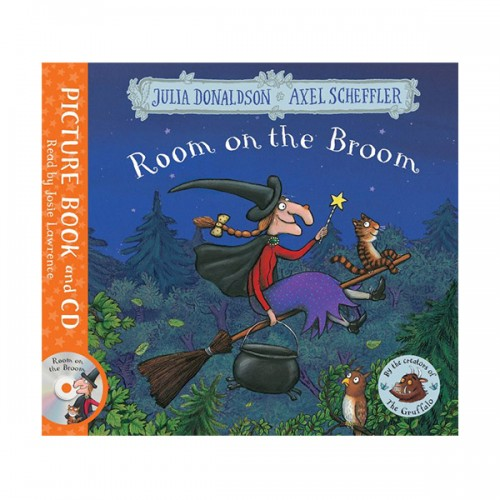 Room on the Broom (Book & CD, 영국판)
