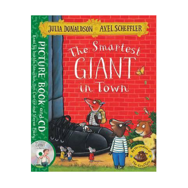 The Smartest Giant in Town (Book & CD, 영국판)