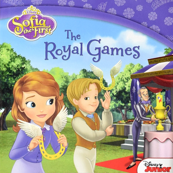 RL 2.8 : Sofia the First : The Royal Games (Paperback)