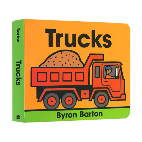 Byron Barton : Trucks (Board Book)