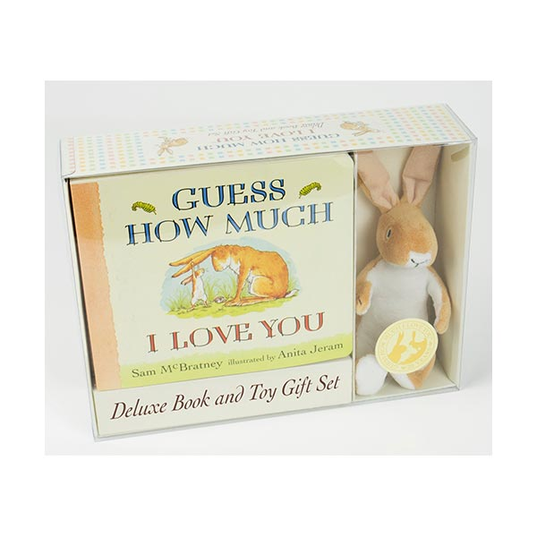 Guess How Much I Love You : Deluxe Book and Toy Gift Set (Board book)