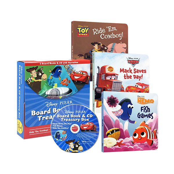 Disney Pixar Board Book & CD Treasury Box (Book&CD)