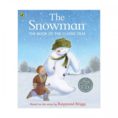 The Snowman : The Book of the Classic Film (Book & CD, 영국판)