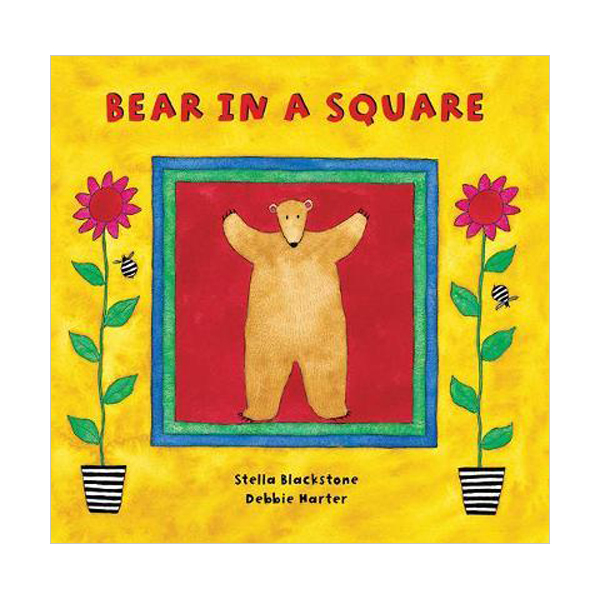 Bear Series : Bear in a Square (Board book)