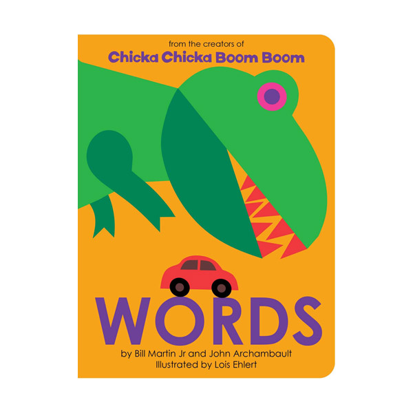 Chicka Chicka Book : Words (Board Book)