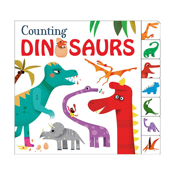 Counting Collection : Counting Dinosaurs (Board book)