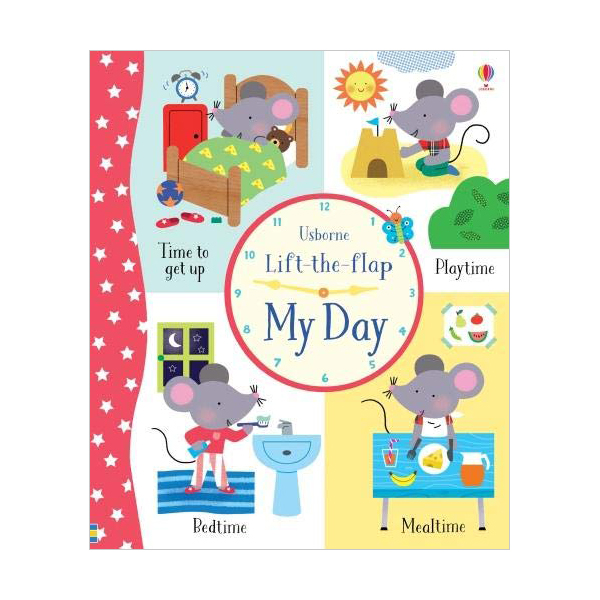 Lift-the-Flap My Day (Board book, 영국판)
