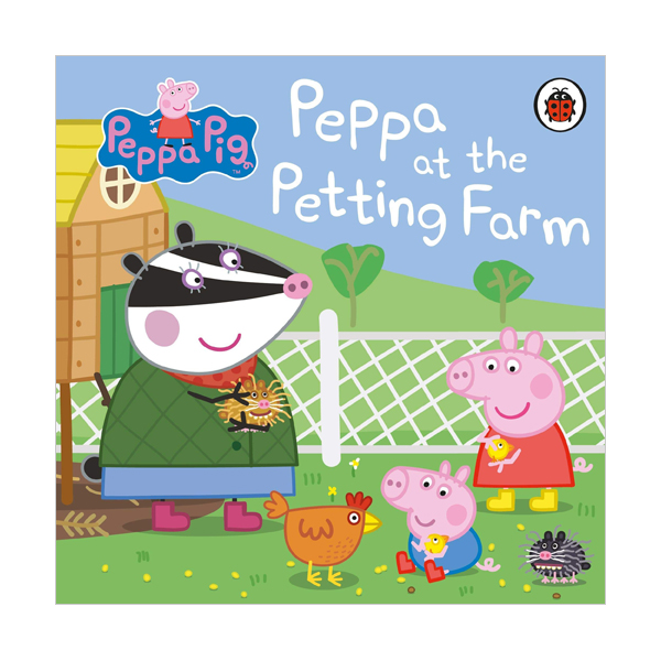 Peppa Pig : Peppa at the Petting Farm (Board book, 영국판)