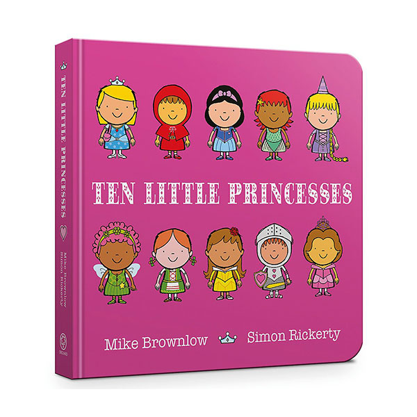 Ten Little Princesses (Board Book, 영국판)