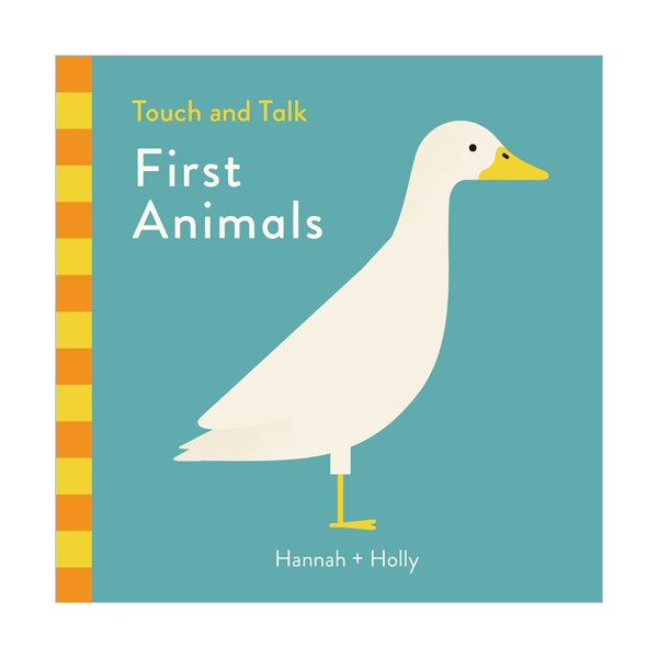 Touch and Talk : First Animals (Board book, 영국판)