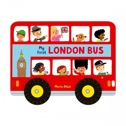 Whizzy Wheels : London Bus (Board book, 영국판)