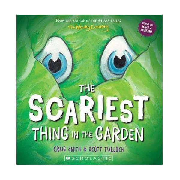 The Scariest Thing in the Garden ( Paperbacks + Audio CD )