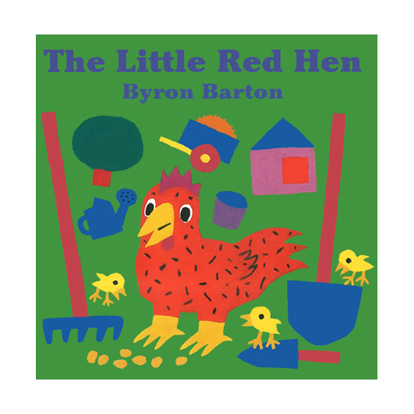 Byron Barton : The Little Red Hen (Board Book)