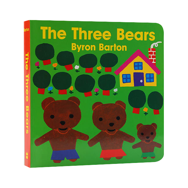 Byron Barton : The Three Bears (Board Book)