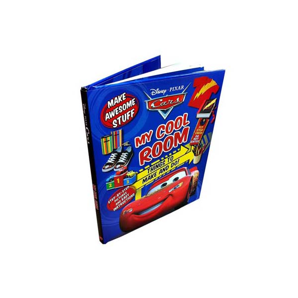 Cars Craft Book: My Cool Room (Hardcover)