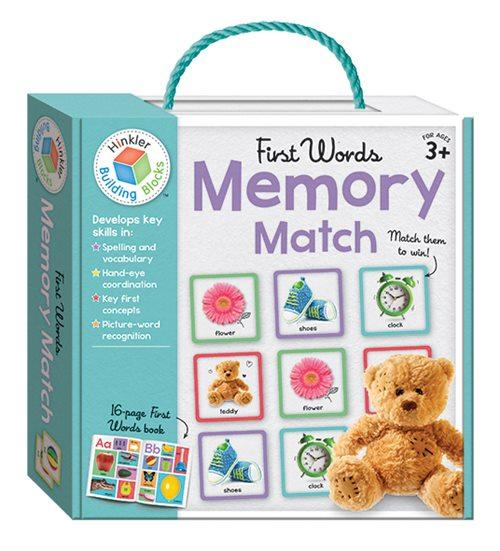 First Words : Memory Match (Paperback, Cards)