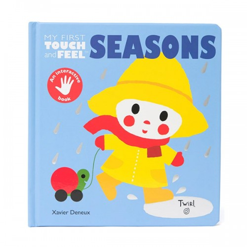 My First Touch-and-Feel : Seasons (Board book)