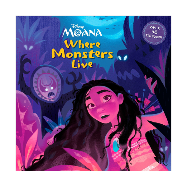 Disney Moana : Where Monsters Live (Paperback)