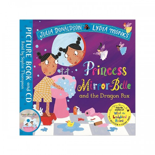 Princess Mirror-Belle and the Dragon Pox (Book & CD, 영국판)