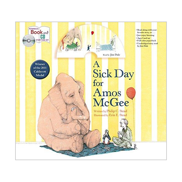 A Sick Day for Amos McGee (Book&CD)