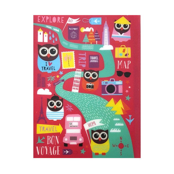 Hoot A5 Polyprop Notebook With Dividers