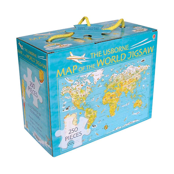 Map of the World Boxed Jigsaw (Puzzle)