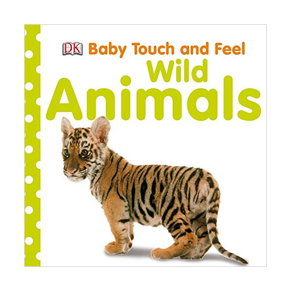 Baby Touch and Feel : Wild Animals (Board book, 영국판)