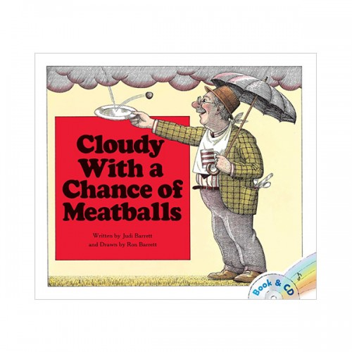 Cloudy With a Chance of Meatballs (Paperback & CD)