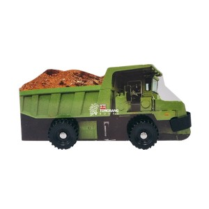 Dump Truck : Wheelie Books (Board book)