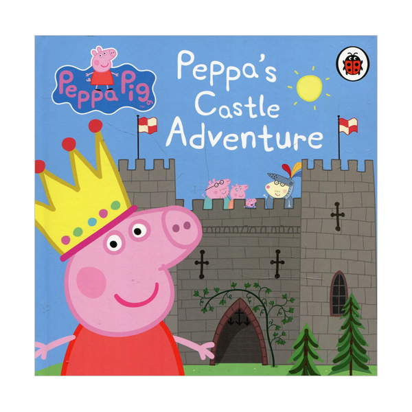 Peppa Pig : Peppa's Castle Adventure (Board book, 영국판)