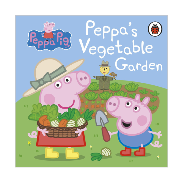 ★키즈코믹콘★Peppa Pig : Peppa's Vegetable Garden (Board book, 영국판)