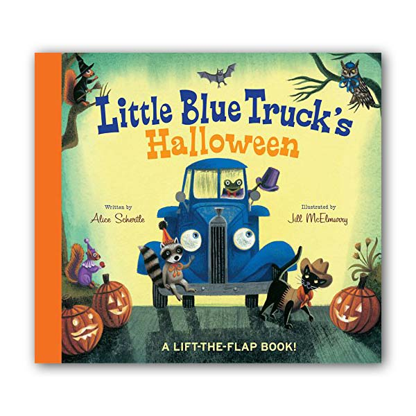 RL 1.3 : Little Blue Truck's Halloween (Board book)