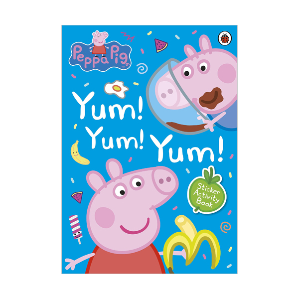★키즈코믹콘★Peppa Pig : Yum! Yum! Yum! Sticker Activity Book (Paperback, 영국판)