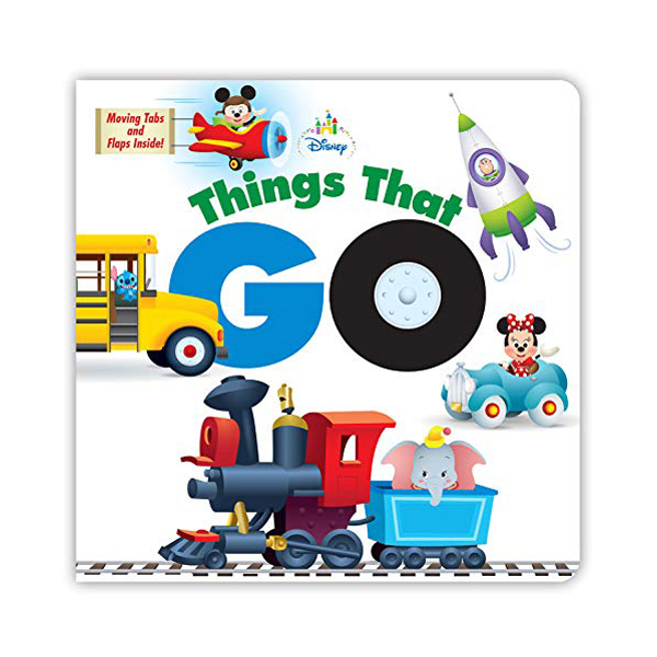 Disney Baby Things That Go (Board book)