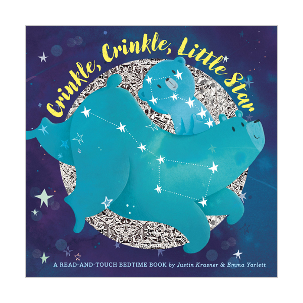 A Read-and-touch Bedtime Book : Crinkle, Crinkle, Little Star (Hardcover)