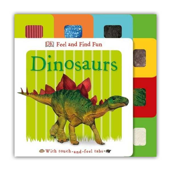 Feel and Find Fun Dinosaurs (Board book, 영국판)