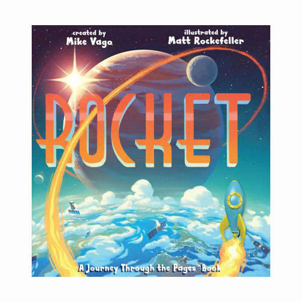 Rocket: A Journey Through the Pages Book (Hardcover)