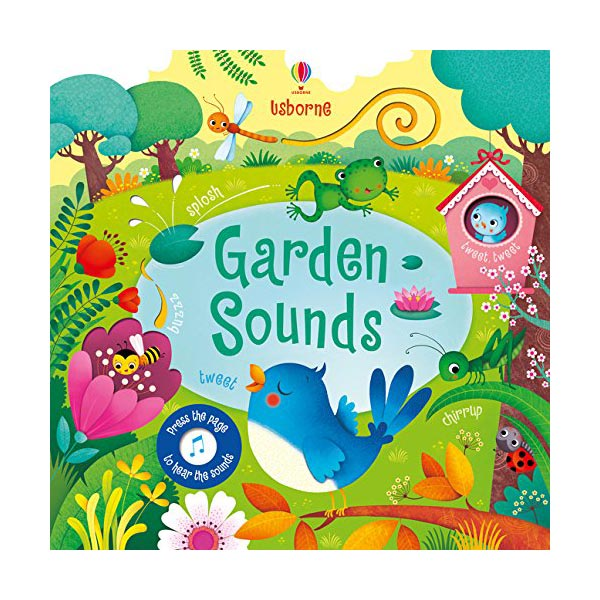 Garden Sounds (Sound Board book, 영국판)